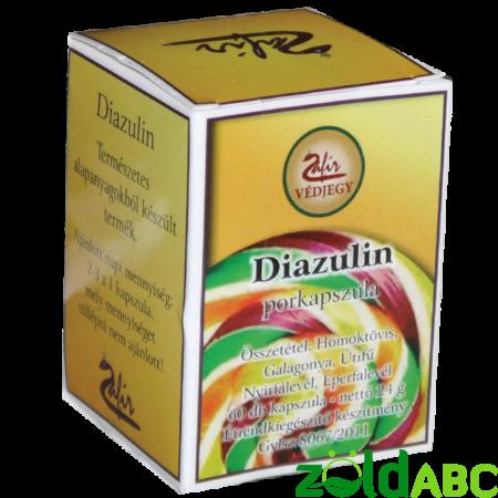 Zafír Diazulin kapszula, 60db