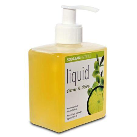 Sodasan BIO folyékony szappan pumpás, több illatban, 300ml