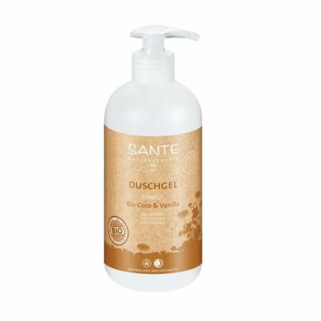 Sante Családi tusfürdő - bio kókusz & vanília 500 ml
